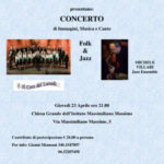 Concerto solidale 2015, Folk & Jazz