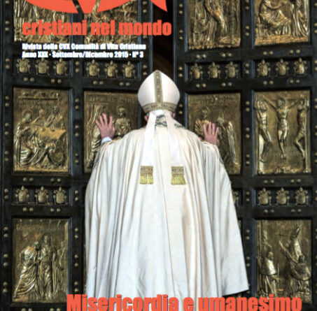 Misericordia e umanesimo | Copertina Cristiani nel mondo 3 2015