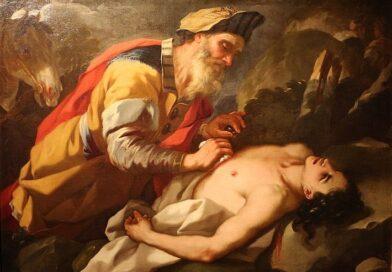 Vangelo del Buon Samaritano | Dipinto di Nicola Malinconico 1703 Palazzo Pretorio Prato