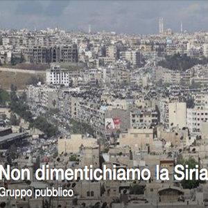 Gemellaggio Siria | Il gruppo Facebook Don't forget Syria