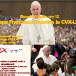 Papa Francesco incontra la Cvx Lms
