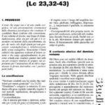 Parabola dei due ladroni, una drammatizzazione (da Gentes 7/2001)