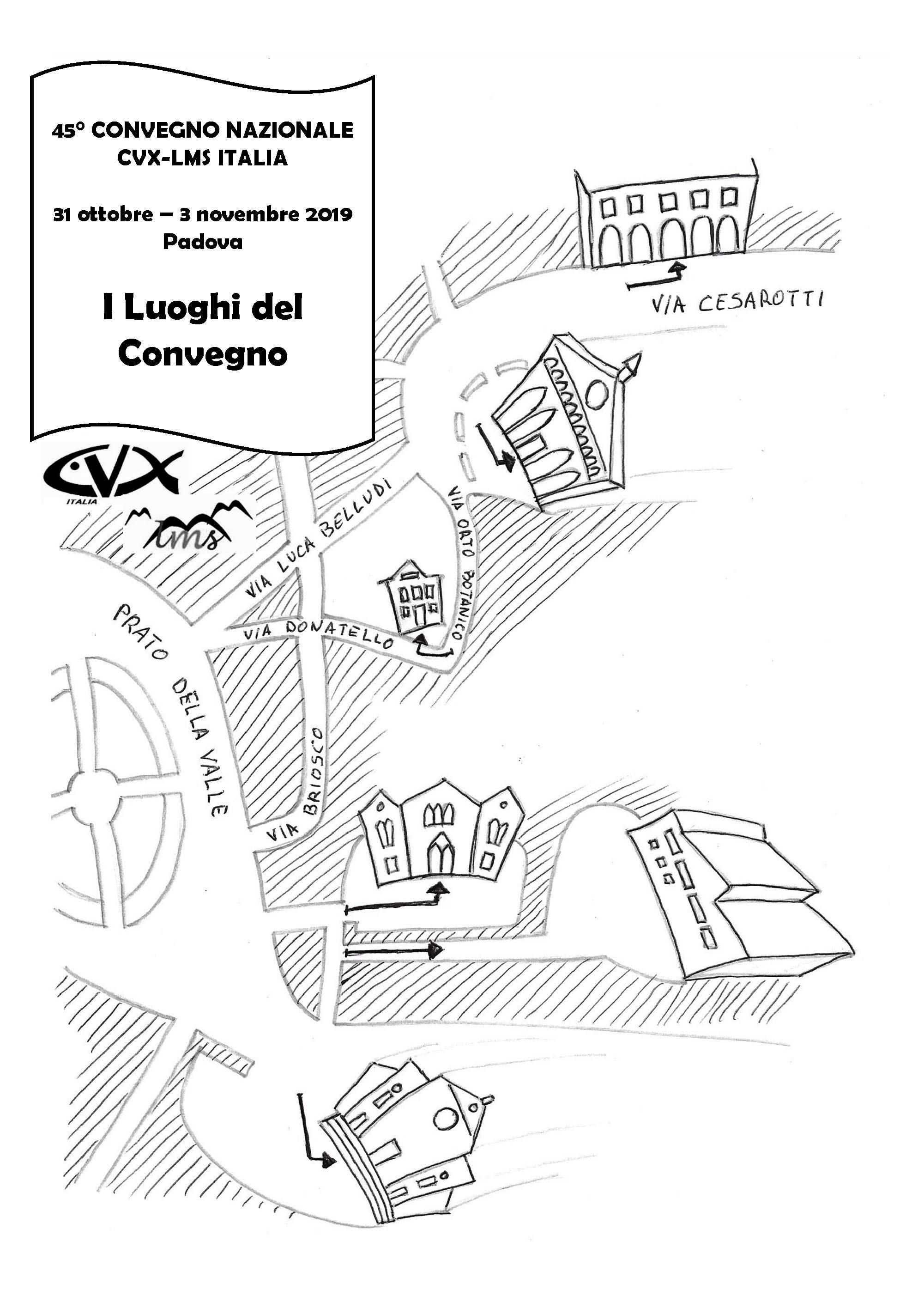 I Luoghi del Convegno di Padova