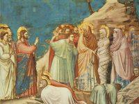 Vangelo di lazzaro Giotto Cappella degli Scrovegni Padova Resurrezione di Lazzaro