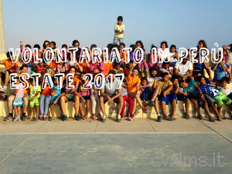 volontariato in perù estate 2017 | cvxlms.it