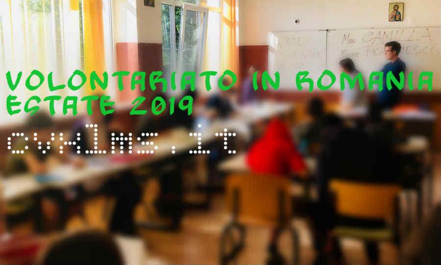 volontariato in romania estate 2019 | cvxlms.it