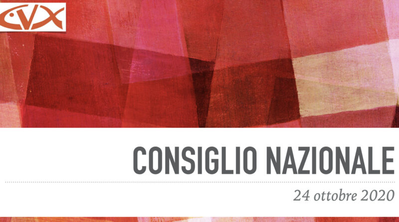 Consiglio Nazionale 2020 – Intervento del P. Carlo Casalone sj