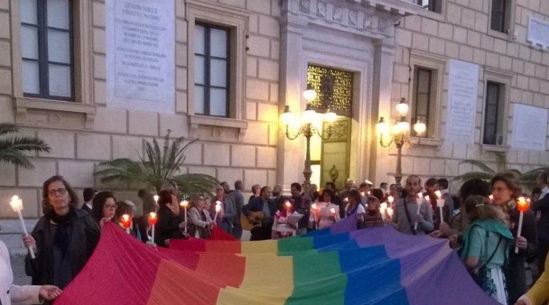 Veglia contro omotransfobia